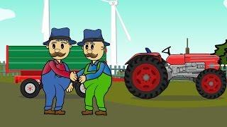 ☻ Farmer - Rolnik _ Buraki | Bajki Traktory - Tractor ☻