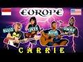 Carrie Europe cover - Alip Ba Ta, Jess Mancuso, Ellis Lamar, Swaylex -  Indonesia & USA Collab