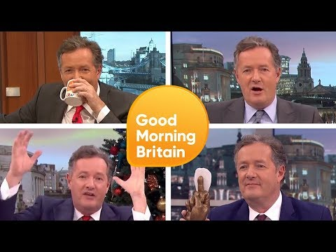 Top 5 Piers Morgan's Funniest Moments  | Good Morning Britain