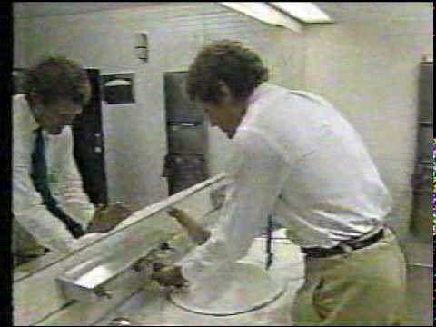 Classic Dave - dave roams the halls of NBC, 8/21/87