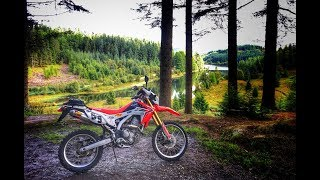 Exploring the Trossachs by Honda CRF250L - Episode 4: Three Lochs Forest Ride