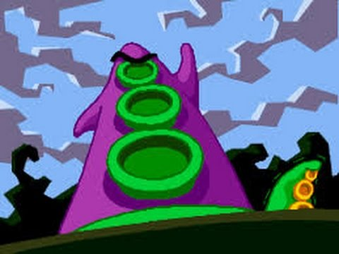 Day Of The Tentacle Intro DOTT PC SCUMMVM CD ROM