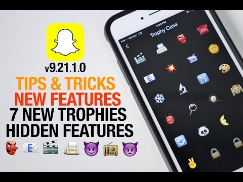 how to get all the snapchat trophies