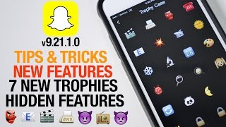Snapchat 9.21.1.0 update - how to unlock new trophies, secrets & hidden features