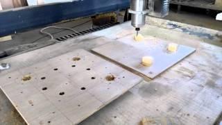 CNC Machining Locators on Boards