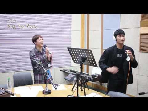 金秀賢  김수현  Kim Soo Hyun ~ 'Kiss The Radio' Live singing 'Wind' 27.6.2017❤