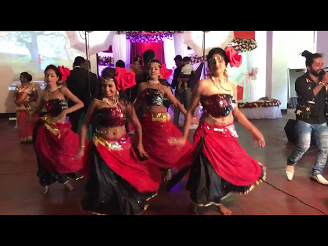 SRI LANKAN BEST WEDDING SURPRISE DANCE | SUNETH & HASINI 2017