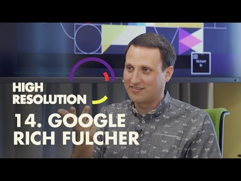 #14: Google Material Design Lead, Rich Fulcher, shares origi