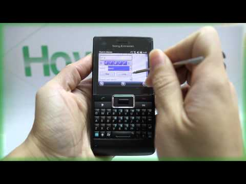 How to Set the Alarm on Sony Ericsson Aspen