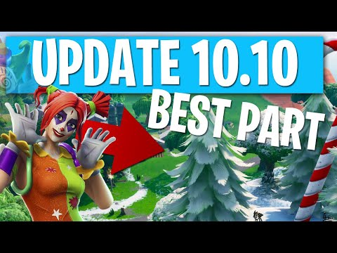 NEW Fortnite Update 10.10 Full Details Discussed