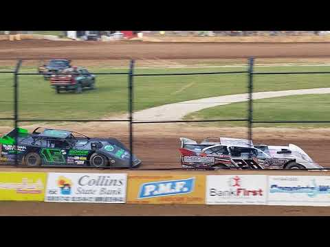 Dirt Late Model Heat Race- Plymouth, WI