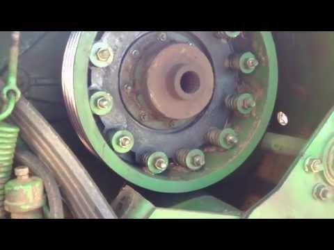 John Deere 930 discbine repair Part 1 - YouTube