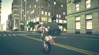 GTA IV   Honda CRF 450cc Wheelie PC Gameplay 720p HD