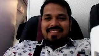 Inside Qatar airways beautiful air hostess