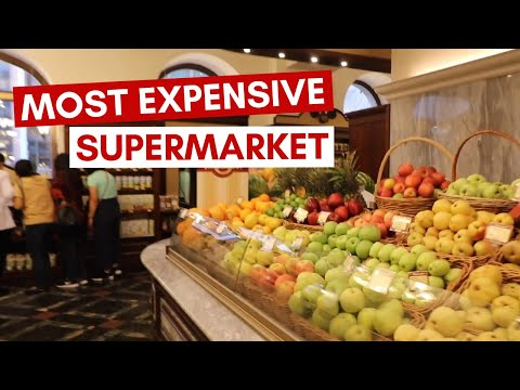 THE MOST EXPENSIVE SUPERMARKET IN MOSCOW