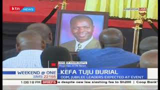 Raphael Tuju's brother laid to rest; ODM, JUBILEE  leaders expected at event