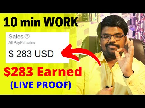 Earn $283 with 10-10 Minutes Per Day | Make Money Online Without Investment As a Beginner
