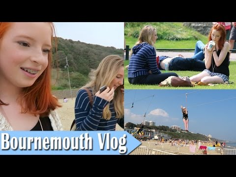 Bournemouth Vlog, Beach, Shopping, Zipline Over Sea | NiliPOD