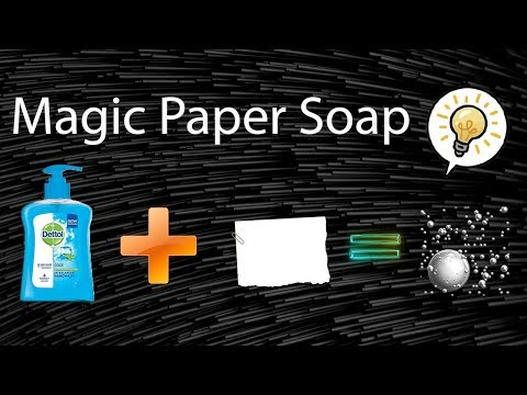 How To Make Paper Soap | Never Seen Before | HomeMade | DIY | TUTORIAL 4K