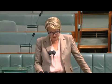 Tanya Plibersek on the Blue Wizard by Nick Coyle