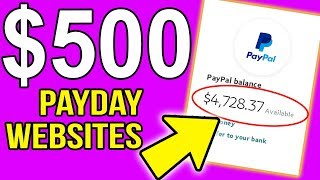 5 Websites That Teach YOU How To Earn $500 PAYDAYS (MAKE MONEY ONLINE MARKETING)