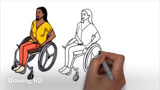 #DRAWING TEACHER AND STUDENT DRAWING | how to draw the picture