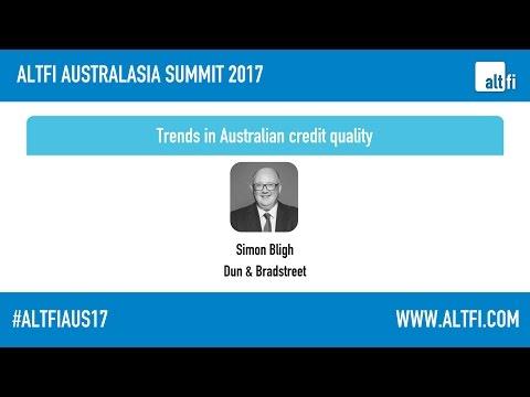 Trends in Australian credit quality -Simon Bligh (Dun & Bradstreet)