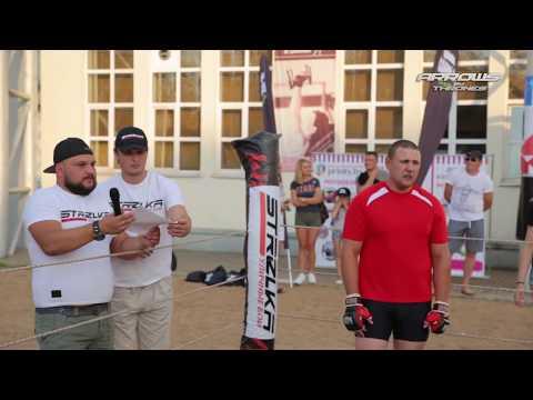 Red fat man vs MMA Fighter ! heavyweight