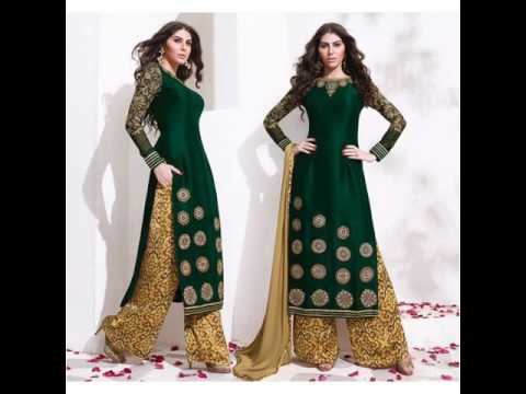 Modern Palazzo Salwar Suit Dress Design ;latest Trends Women Dress Design  Ideas