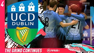 THE GRIND CONTINUES!! #4 - FIFA 20 UCD AFC CAREER MODE