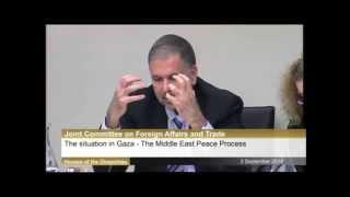 Israeli Ambassador repels Irish Parliamentary Commitee onslaught.