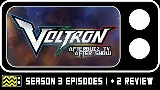 Voltron Season 3 Episodes 1 & 2 Review w/ AJ LoCascio | AfterBuzz TV