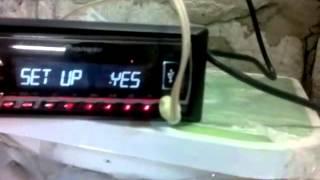 Как подключить автомагнитолу 12В через 220В. Самый простой способ.