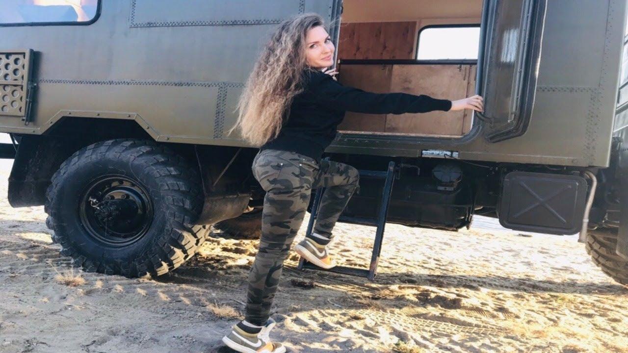 Никто не ожидал что шишига на такое способна!!! Военный грузовик ГАЗ-66 на бездорожье!!!