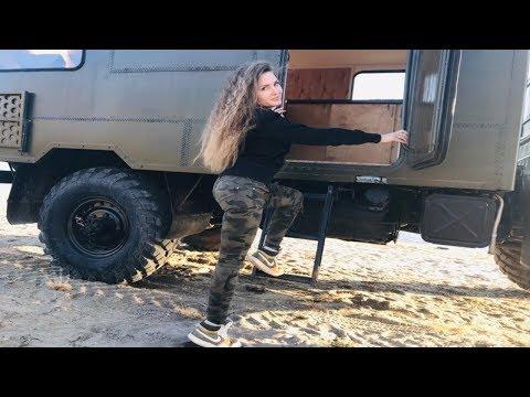 АВТОДОМ на Базе ГАЗ-66. Идеален для путешествий! #gaz66 #газ66