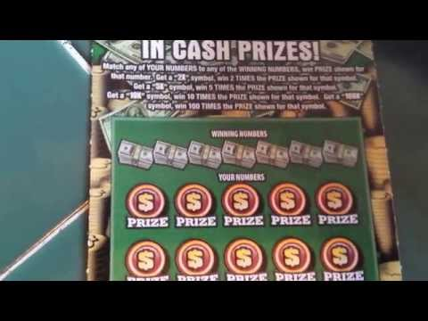 100X THE CASH IL. LOTTO INSTANT SCRATCH WINNER!