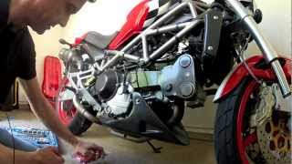 Ducati open clutch cover and pressure plate mod and the northern meet up.mov