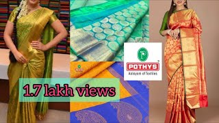 Pothys economy sarees  collections .......