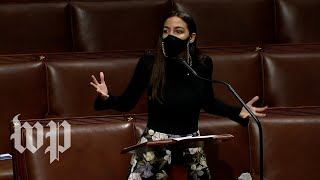 AOC castigates McConnell for sending the Senate home for the holidays
