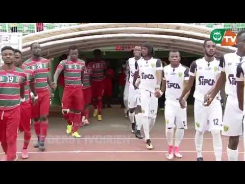 RESUME DU DERBY ASEC MIMOSAS//AFRICA SPORTS (10EME JOURNEE) SAISON 2017-18