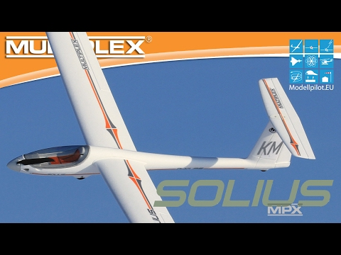 SOLIUS von MULTIPLEX Modellsport Video Testbericht