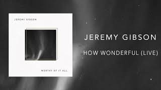Jeremy Gibson - How Wonderful (Live)