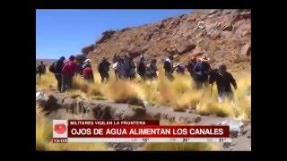 Base militar boliviana custodia las aguas del Silala desde hace un tiempo