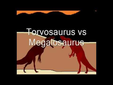 Jurassic Brutal Carnage - Torvosaurus vs Megalosaurus