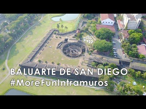 Baluarte de San Diego Intramuros