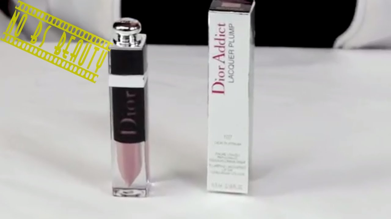 Dior Dior Addict Lacquer Plump Lipstick Review And Swatches Youtube