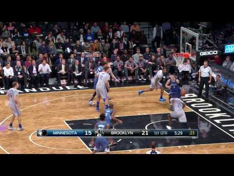 Zach LaVine Goes Up and Under for the Reverse...