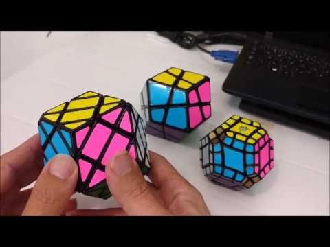 4x4x4 Rhombic dodecahedron - Review, tutorial e solve