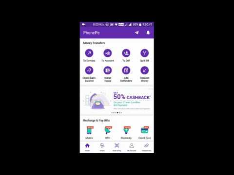 Get Cashbacks For Credit Card Bill via PhonePe UPI