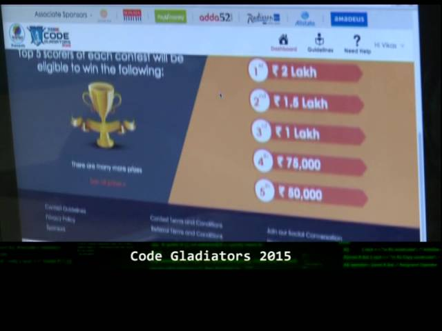Code Gladiators 2015 - Times Now Promo - YouTube